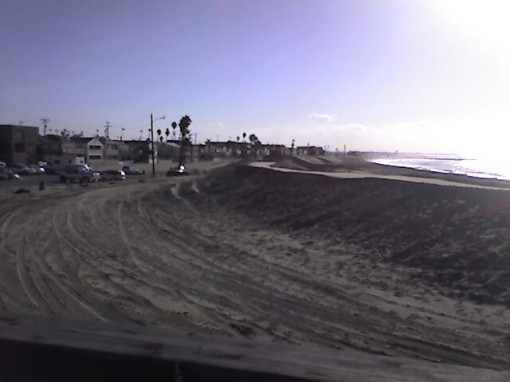 Berm at Seal Beach