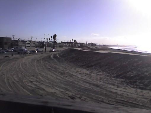 Berm at Seal Beach