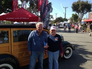 Winner of the Seal Beach Classic car show